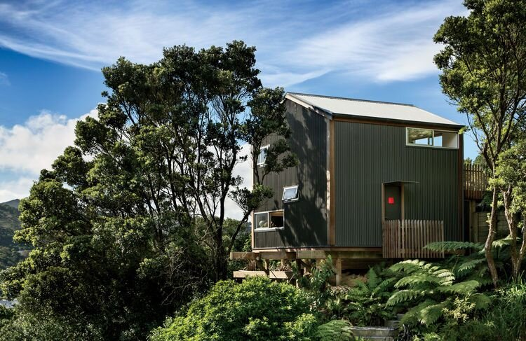 Andrew Simpson's Tiny House - WireDog Architecture - New Zealand - Exterior - Humble Homes