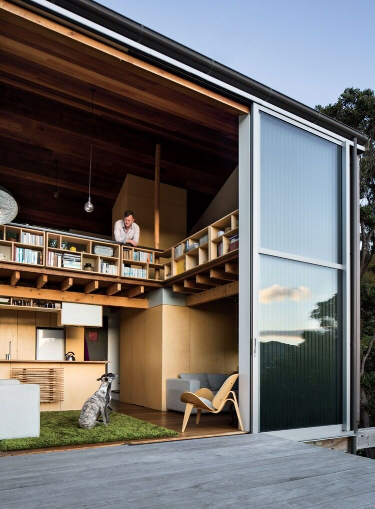 Andrew Simpson 39 S Cozy Tiny House From New Zealand