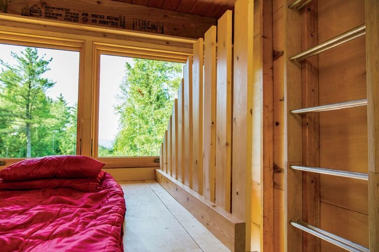 Forest Retreat - Relevation Architects - Wisconsin - Bedroom - Humble Homes