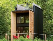 Forest Retreat - Relevation Architects - Wisconsin - Exterior - Humble Homes