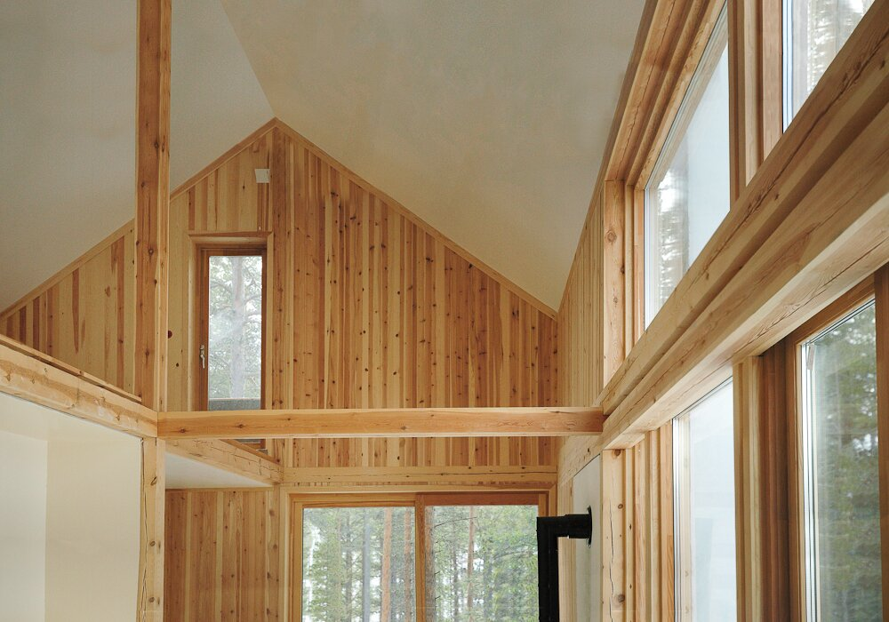 Gunnar's House - Huus Og Heim Arkitektur - Norway - Vaulted Ceiling - Humble Homes