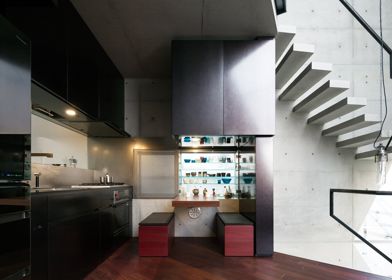 R Torso C - Atelier Tekuto - Tokyo - Dining Room and Kitchen - Humble Homes