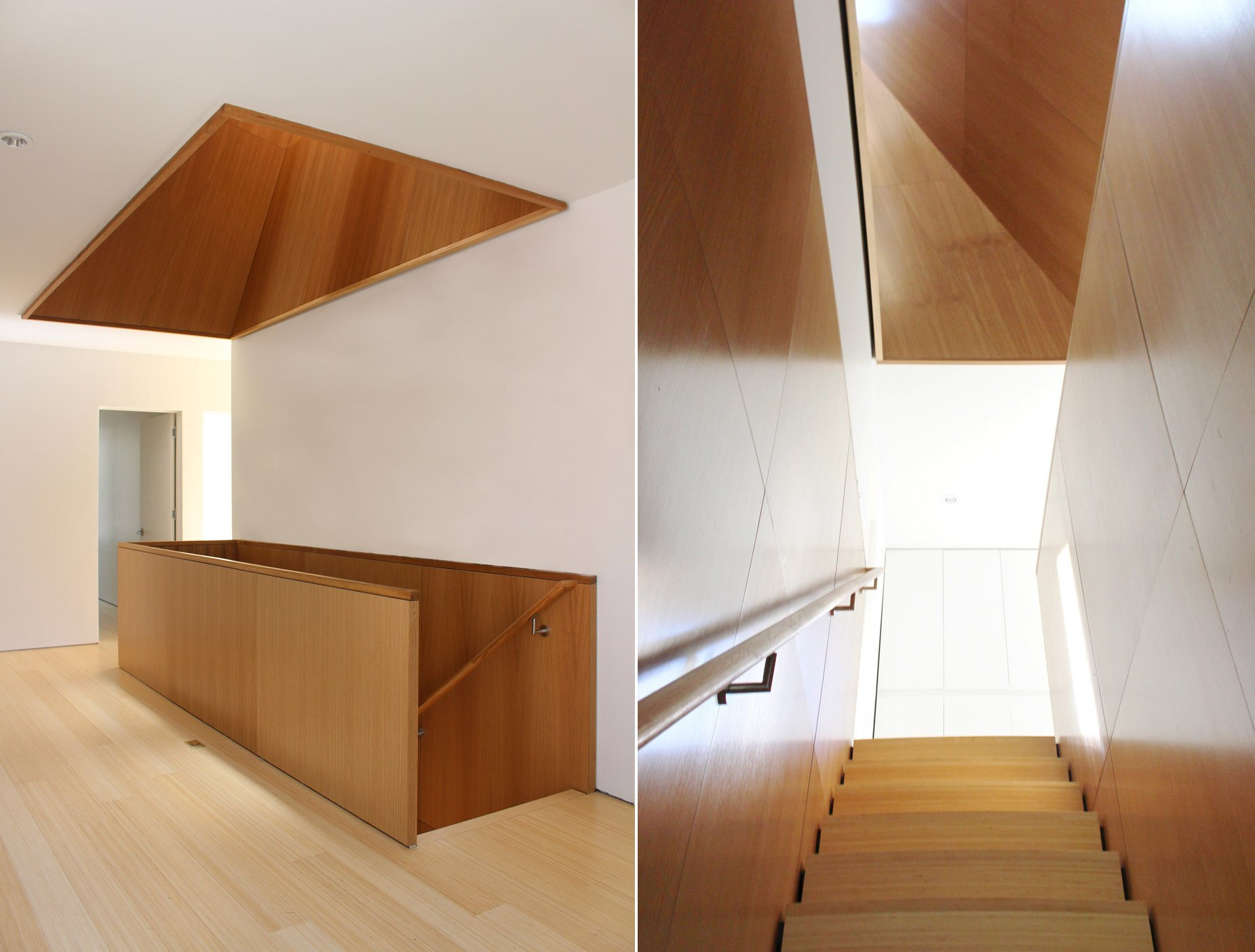 Small House - Jim Vlock Building Project - Yale School of Architecture - New Haven - Staircase - Humble Homes