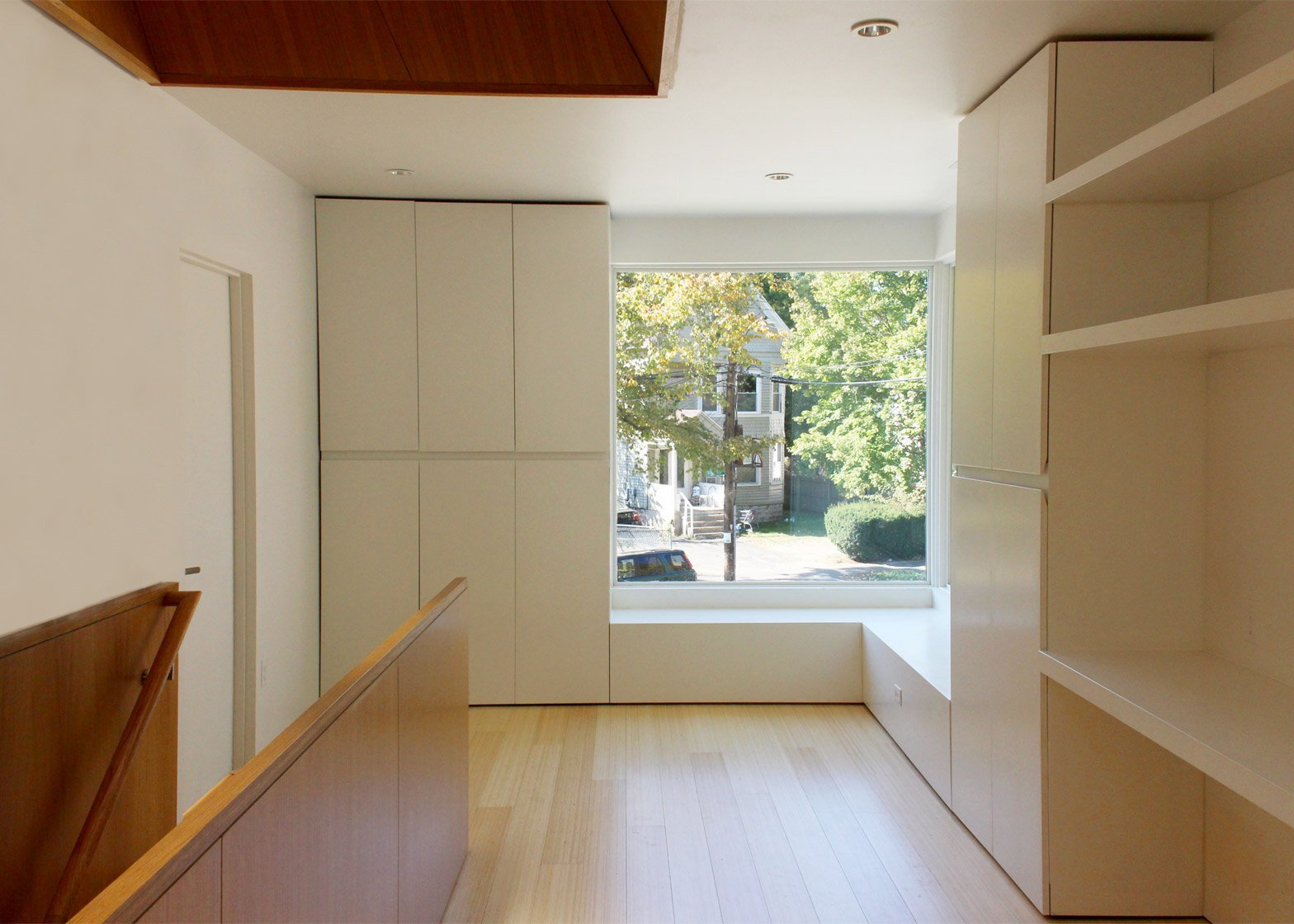 Small House - Jim Vlock Building Project - Yale School of Architecture - New Haven - Storage - Humble Homes