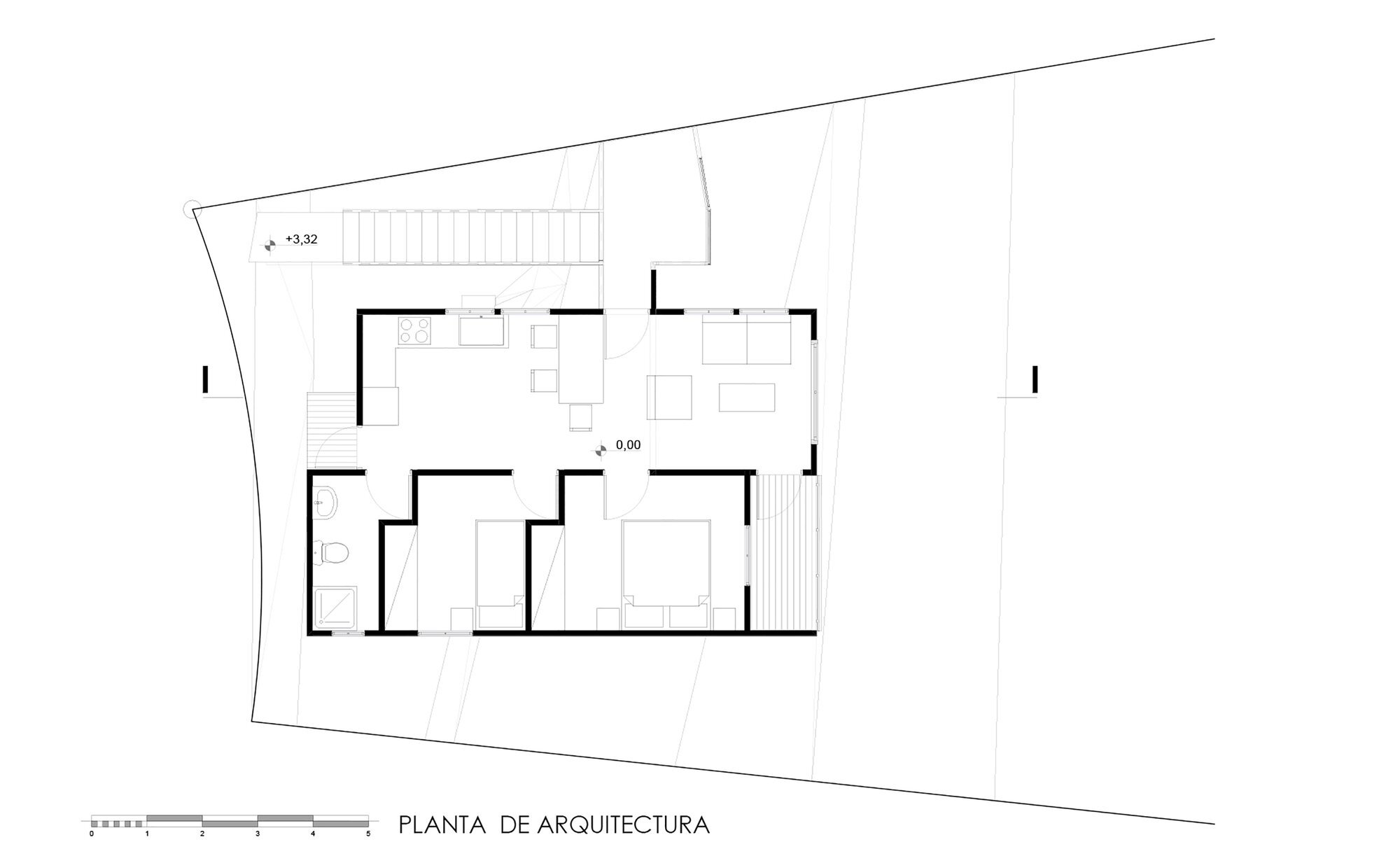 Suarez House - Arq2g arquitectura - Chile - Floor Plan - Humble Homes