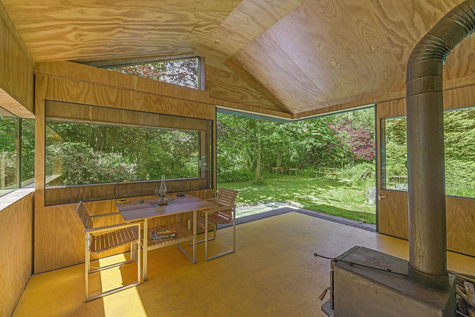 Thoreau's Cabin - cc-studio - The Netherlands - Dining Area - Humble Homes