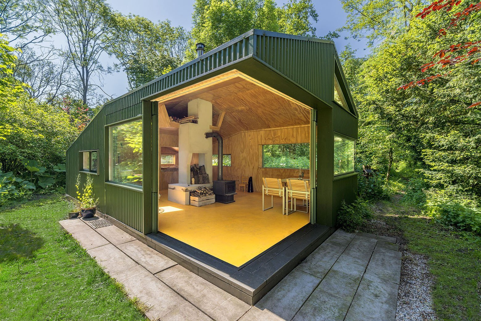 Thoreau's Cabin - cc-studio - The Netherlands - Exterior - Humble Homes