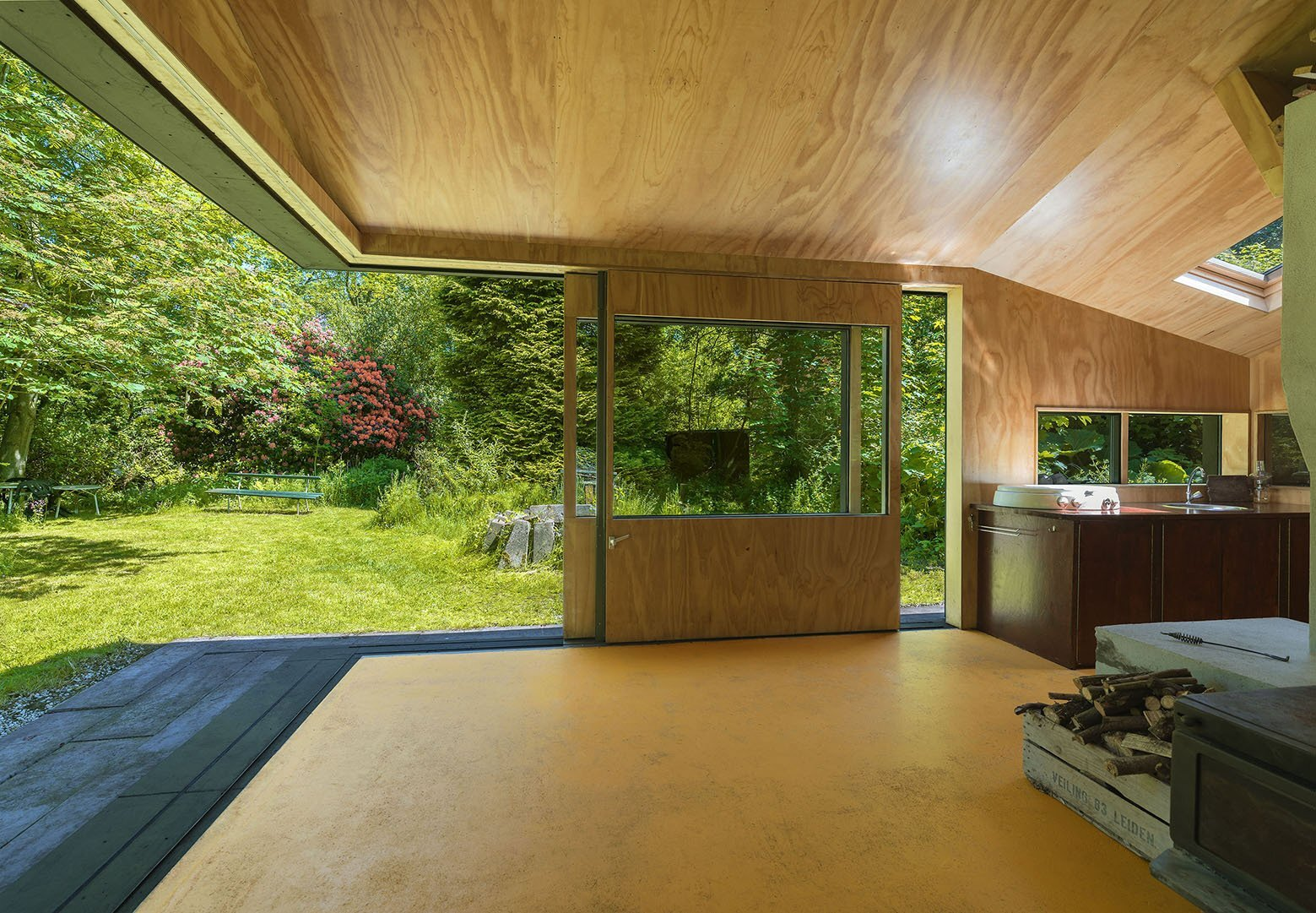 Thoreau's Cabin - cc-studio - The Netherlands - Patio Doors - Humble Homes
