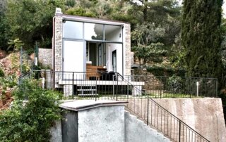 377 Square Foot Tiny House by Studioata is Built into the Mountainside
