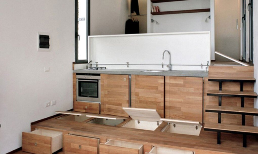 tiny house studioata italy kitchen humble homes