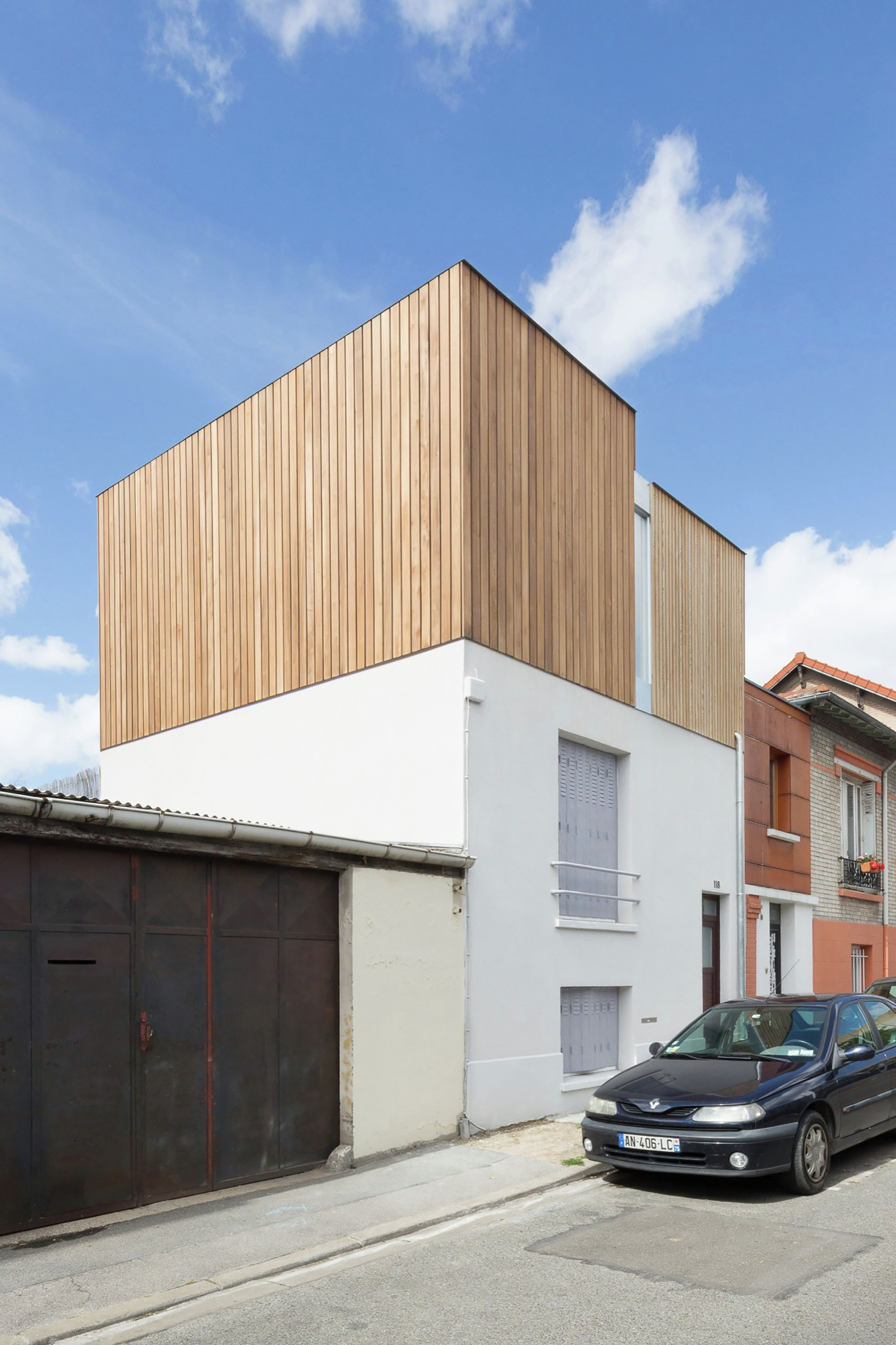 Urban Beat - WY-TO architects - France - Exterior - Humble Homes