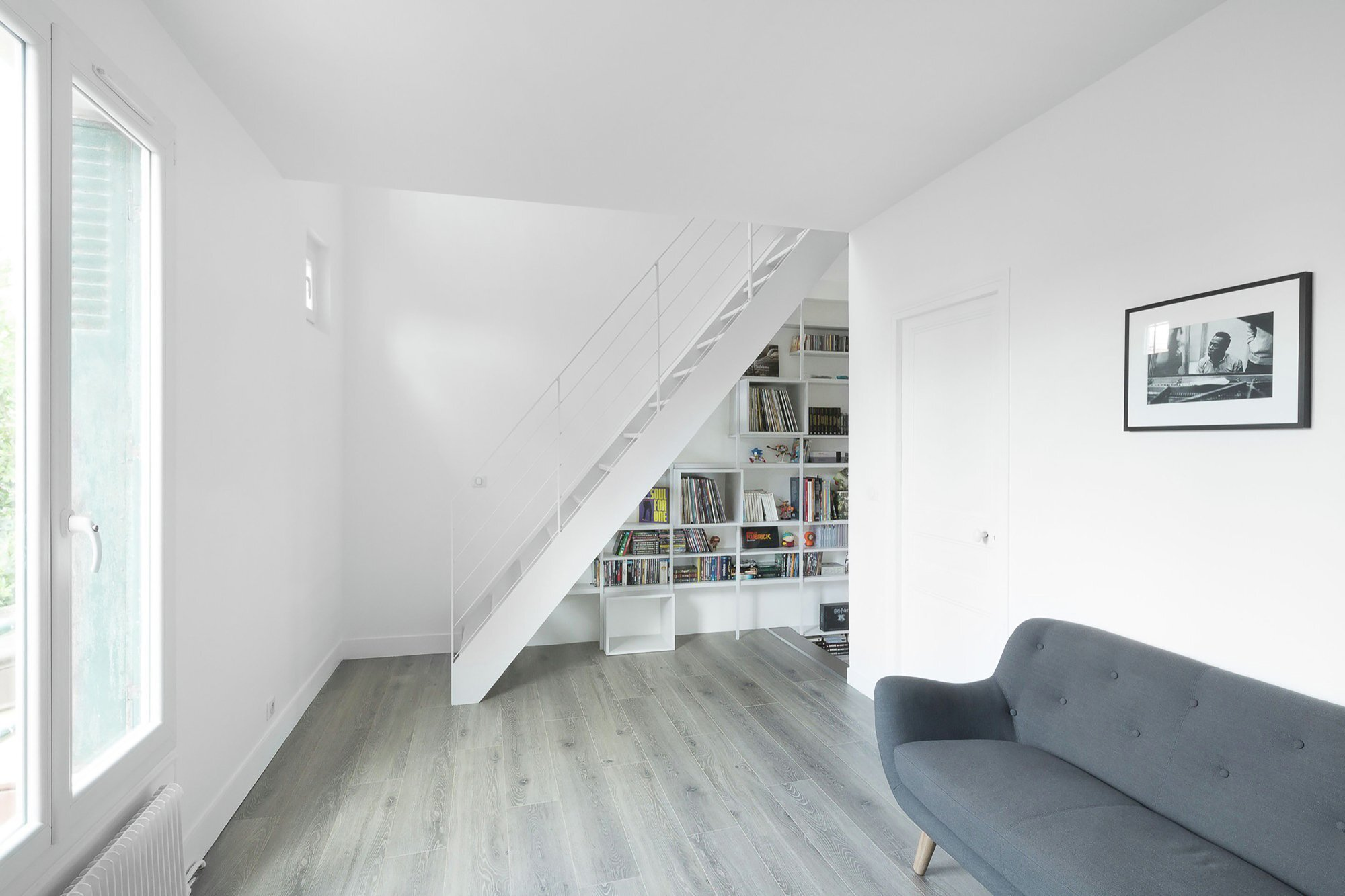Urban Beat - WY-TO architects - France - Living Room - Humble Homes