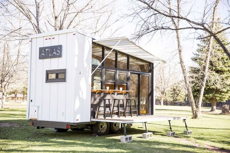Atlas A 196 Square Foot Tiny House on Wheels by F9 Productions
