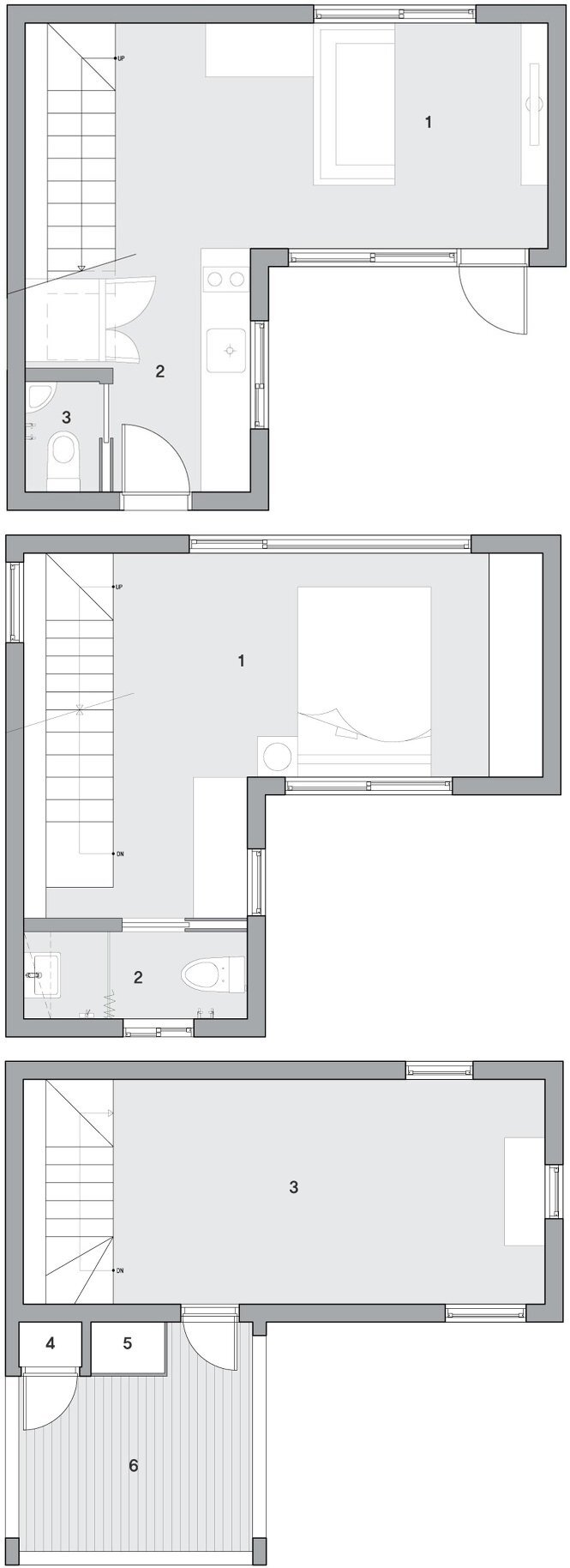 Blooming House with Wild Flowers - Studio GAON - Floor Plans - Humble Homes
