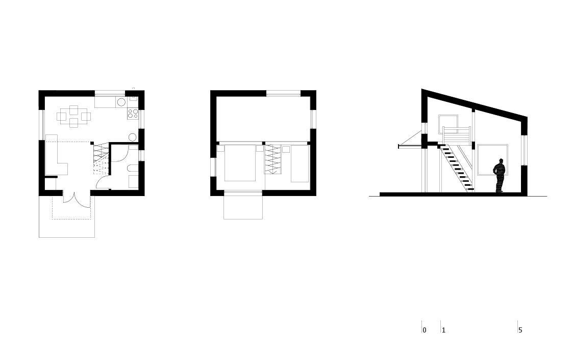 Bungalows - BLIPSZ - Romania - Floor Plans - Humble Homes