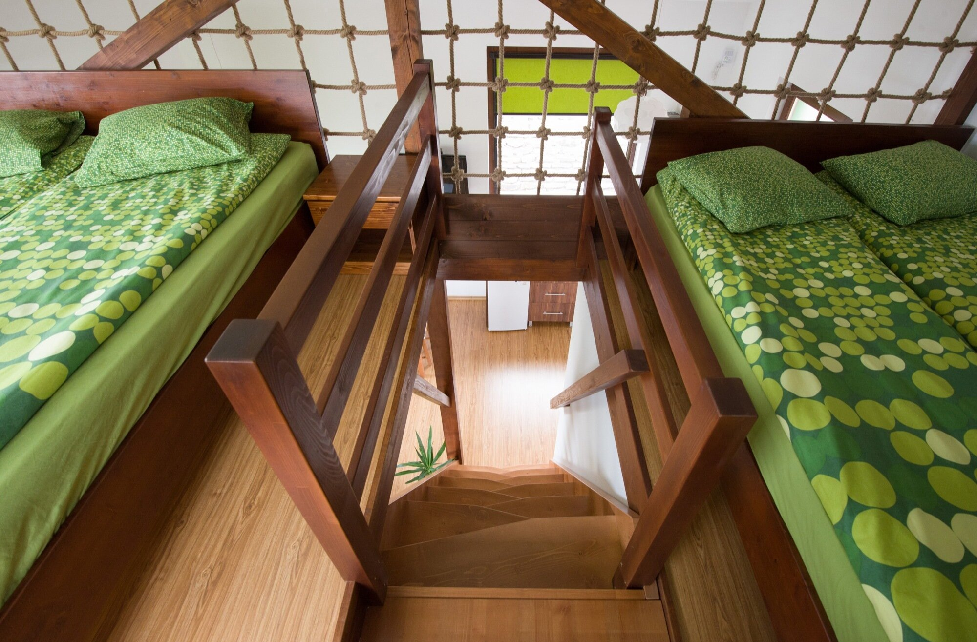 Bungalows - BLIPSZ - Romania - Lofted Bedroom - Humble Homes