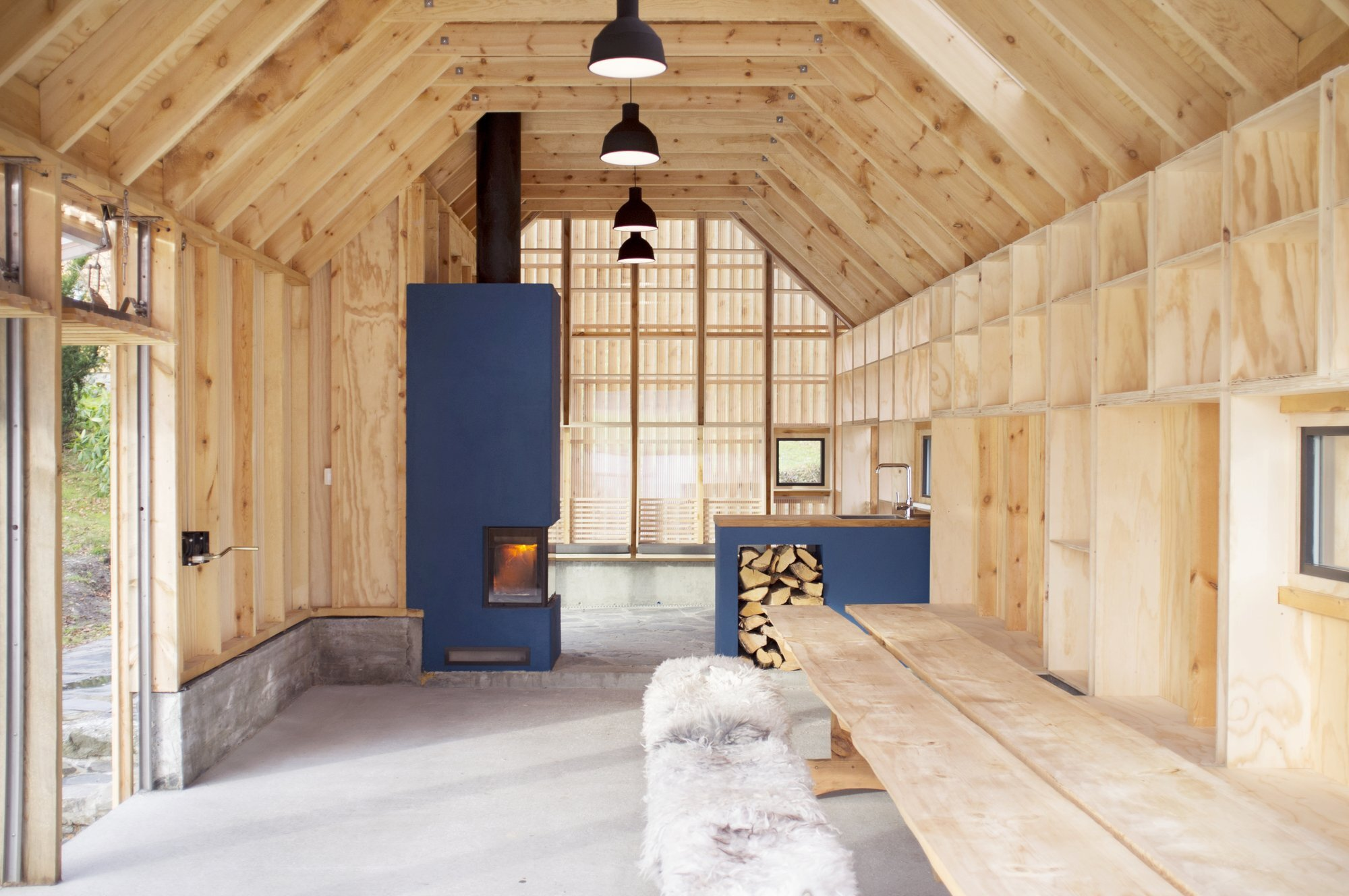 Naust V - Koreo Arkitekter + Kolab Arkitekter - Norway - Interior - Humble Homes