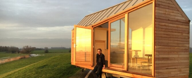 Porta Palace Tiny House - Daniel Venneman - The Netherlands - Exterior - Humble Homes