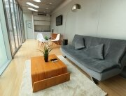 Prefab Tiny House - James Law Cybertecture - Alpod - Main Living Area - Humble Homes