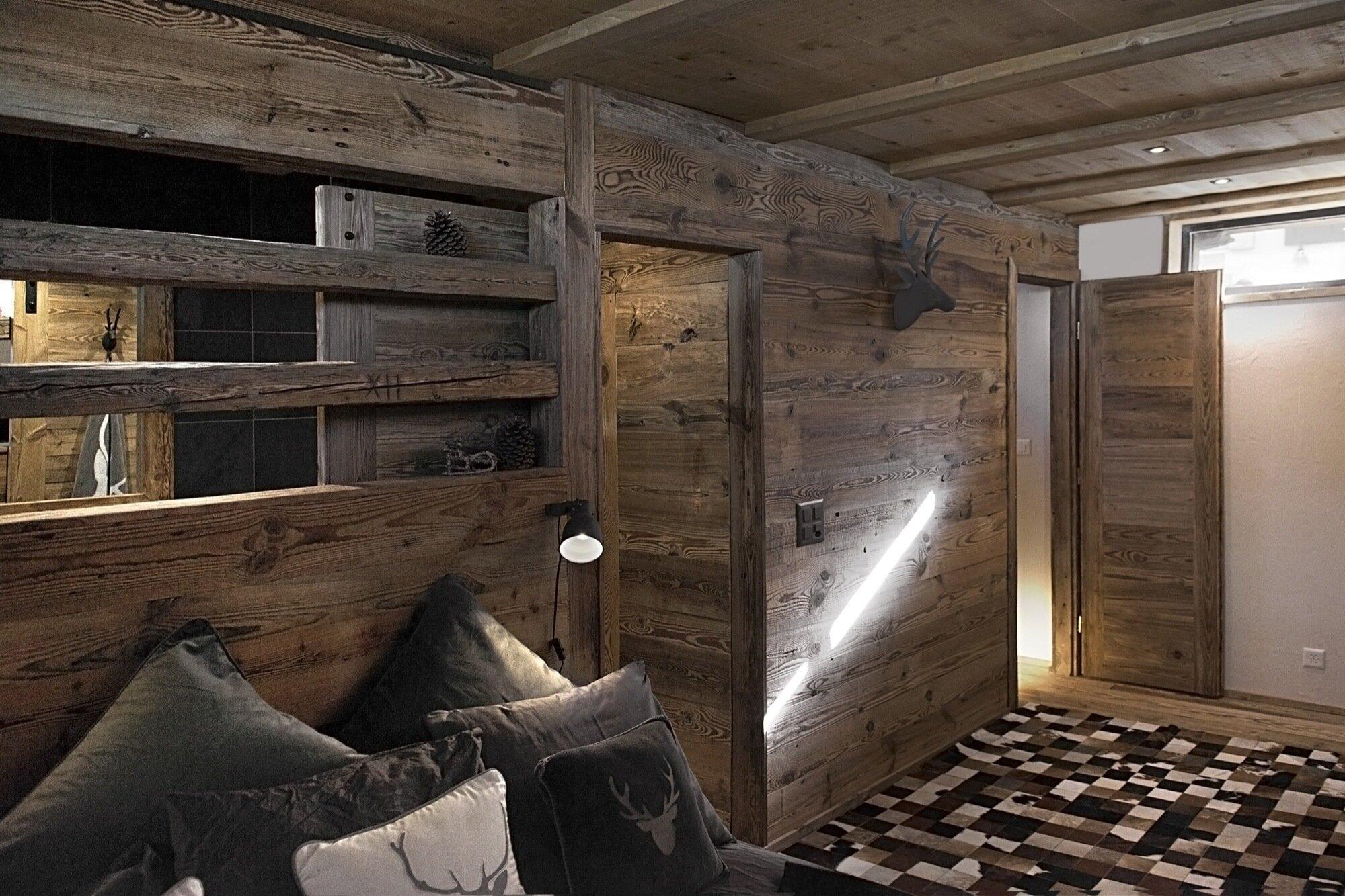 Swedish Cabin - JS' Barn Reconversion - Alp'Architecture Sàrl - Switzerland - Entry - Humble Homes