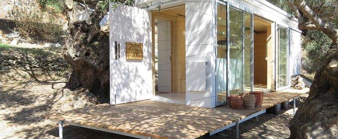 Tiny House on Wheels - Echo Livin - Greece - Exterior - Humble Homes