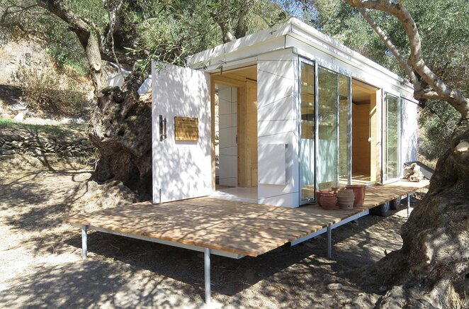 Fine An Off Grid Tiny House On Wheels From Greece By Echo Living Largest Home Design Picture Inspirations Pitcheantrous