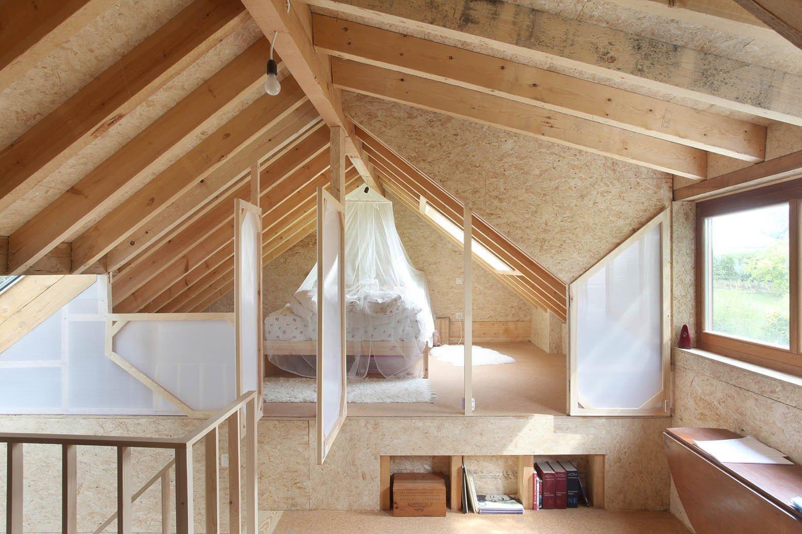 Workshop - Aurelie Hachez Architecte - Belgium - Bedroom Loft - Humble Homes