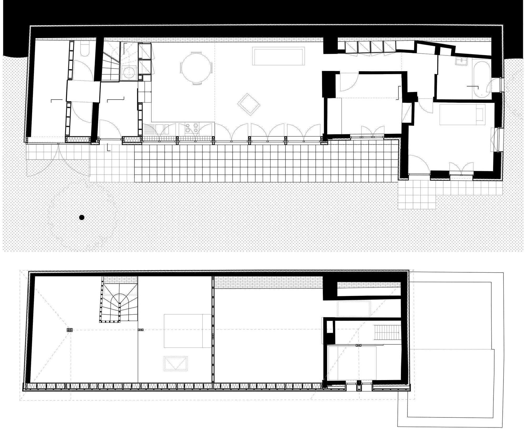 Workshop - Aurelie Hachez Architecte - Belgium - Floor Plans - Humble Homes