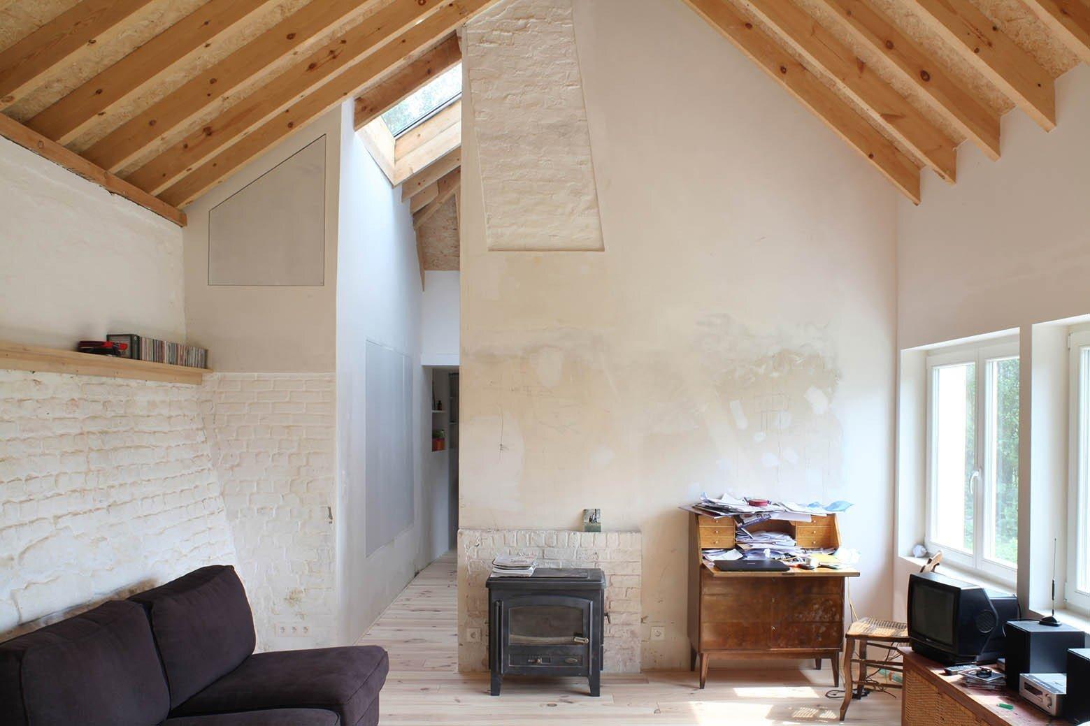 Workshop - Aurelie Hachez Architecte - Belgium - Living Room - Humble Homes