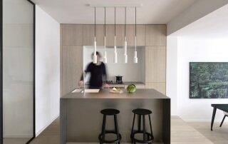 A Sleek Minimalist Apartment in Amsterdam by Frederik Roijé