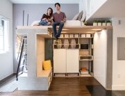 Domino Loft - ICOSA and Peter Suen - San Francisco - Sitting Loft - Humble Homes