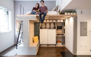 Domino Loft – A Multifunctional Living Space by ICOSA and Peter Suen