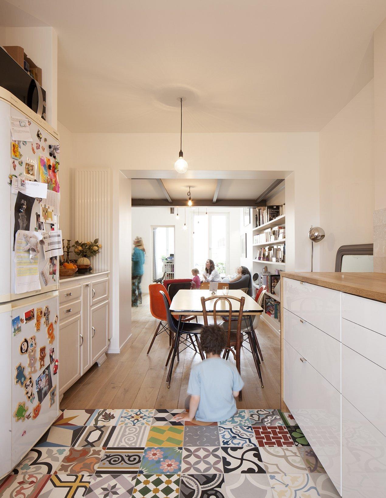 Duplex in Saint-Mande - CAIROS Architecture et Paysage - France - Kitchen - Humble Homes