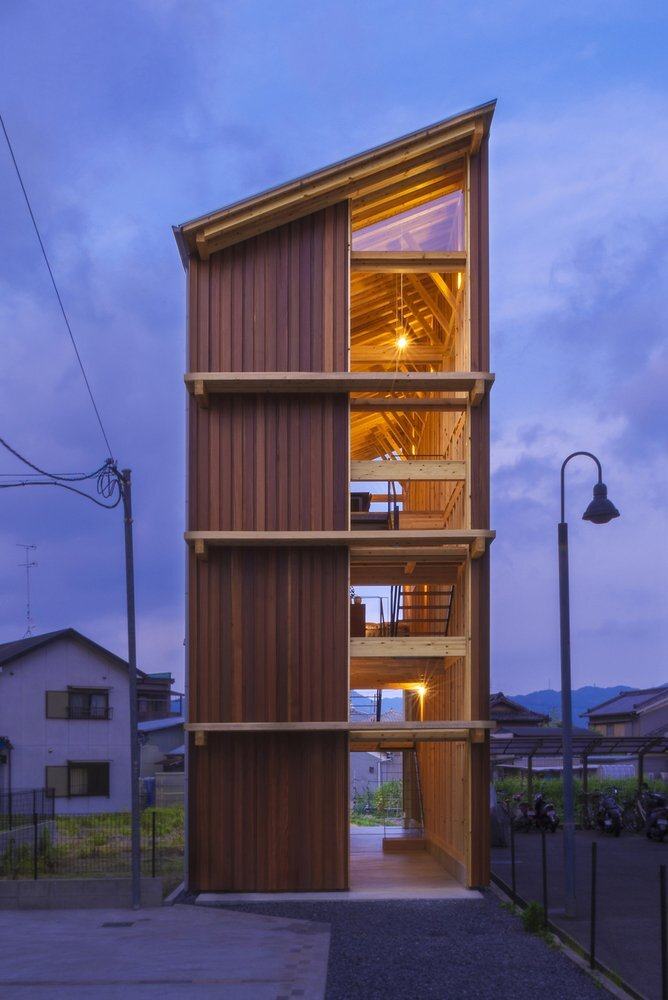 House for Pottery Festival - Office for Environment Architecture - Japan - Exterior - Humble Homes