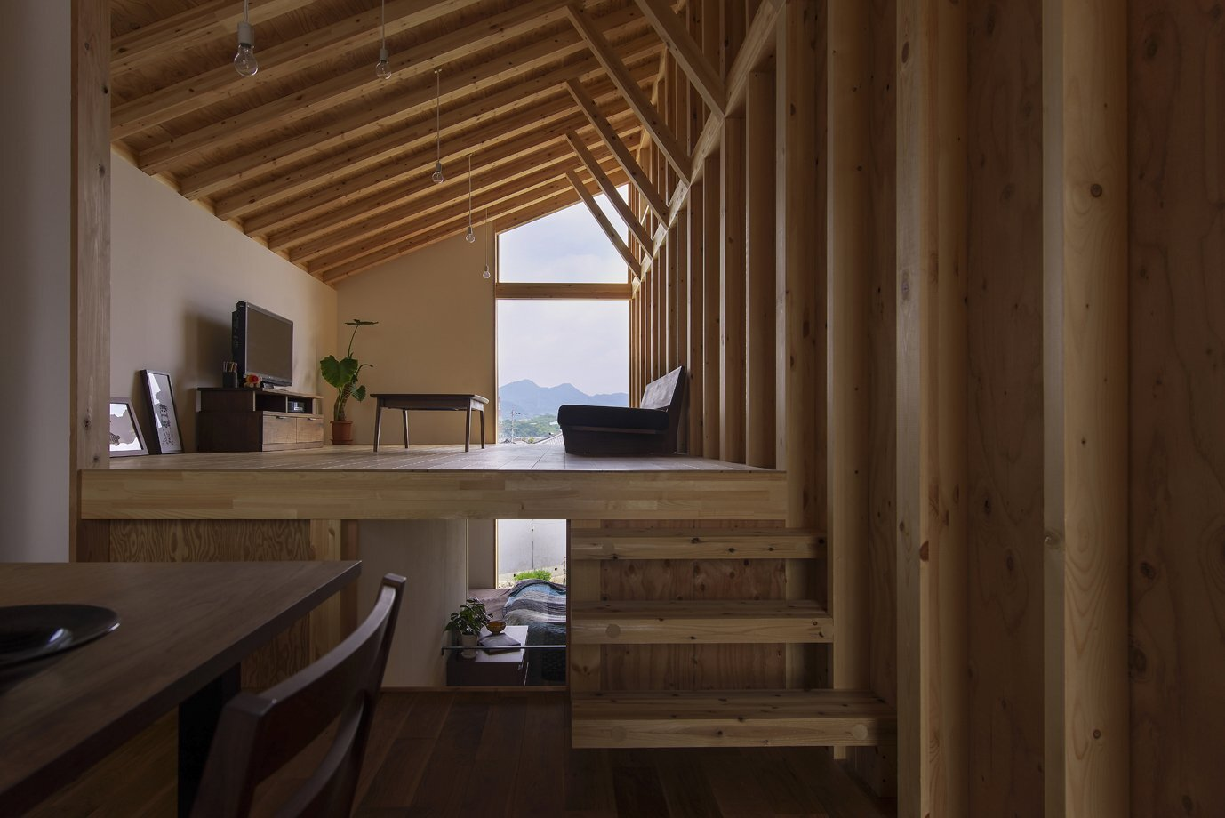 House for Pottery Festival - Office for Environment Architecture - Japan - Living Room - Humble Homes