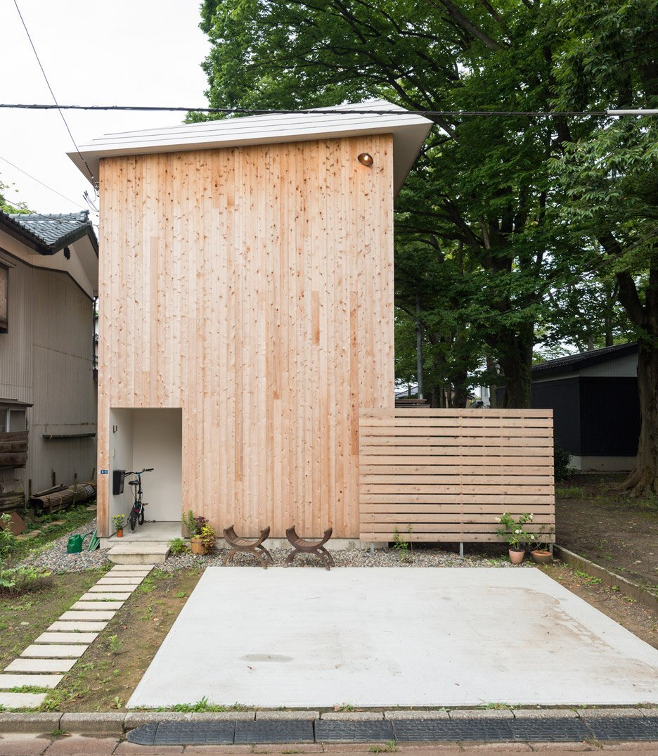 House to Catch a Tree - Takeru Shoji Architects - Japan - Exterior - Humble Homes