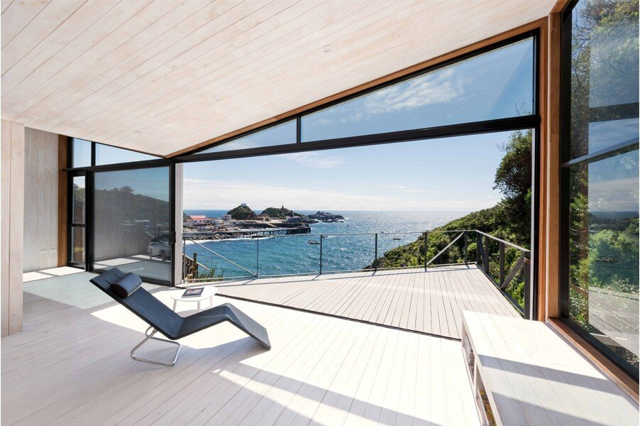 IA House - Joannon Arquitectos - Chile - View from Living Room - Humble Homes