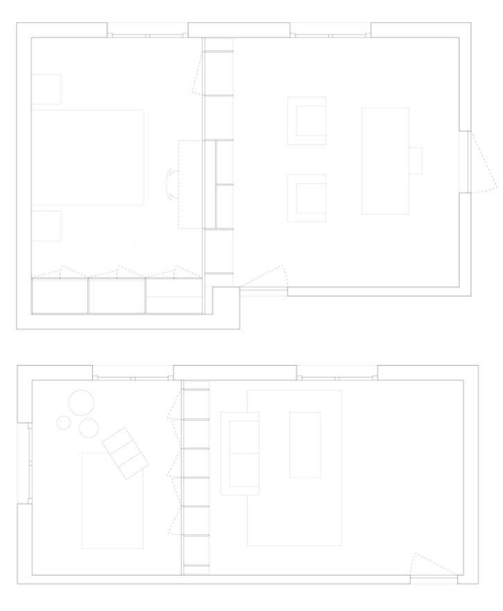 Inhabited Wooden Walls - Aurelie Monet Kasisi - Geneva - Floor Plans - Humble Homes