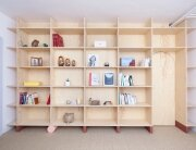 Inhabited Wooden Walls - Aurelie Monet Kasisi - Geneva - Storage 2 - Humble Homes