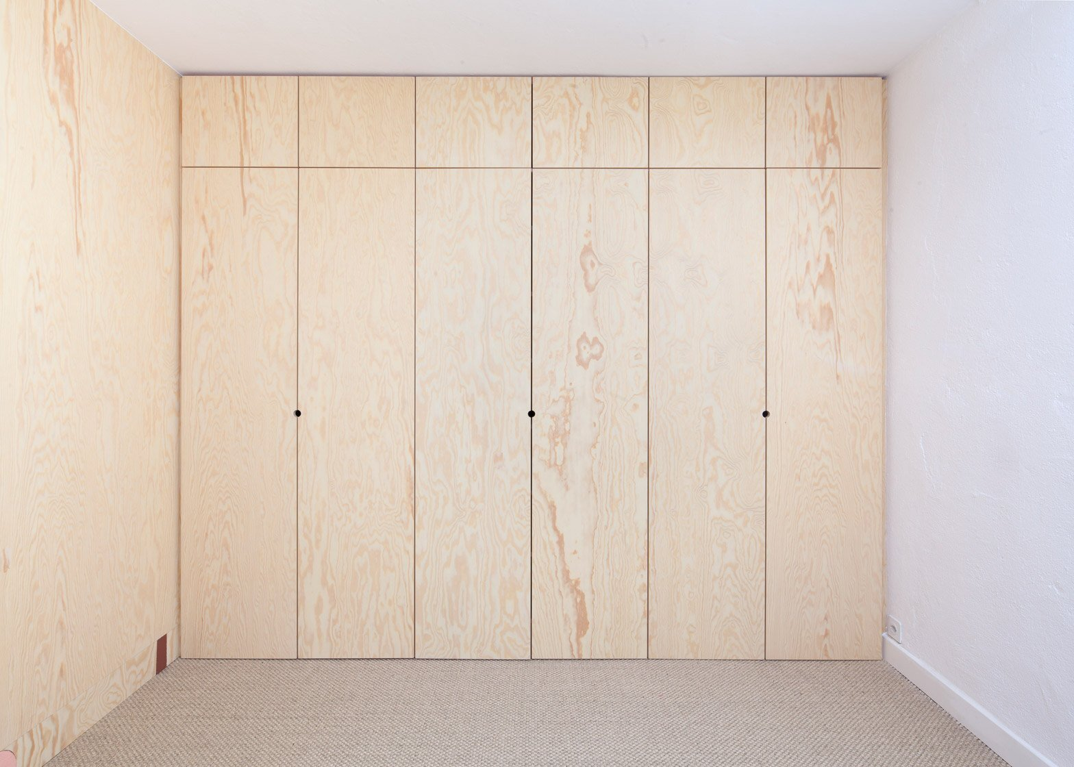 Inhabited Wooden Walls - Aurelie Monet Kasisi - Geneva - Storage 3 - Humble Homes