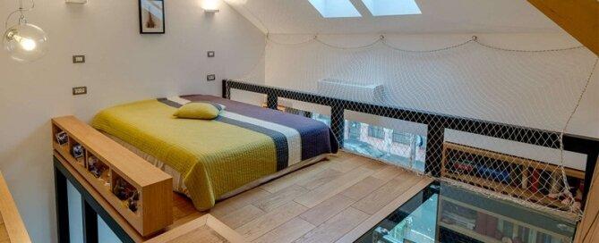 Loft Bed and Studio -  In situ - Romania - Loft 1 - Humble Homes