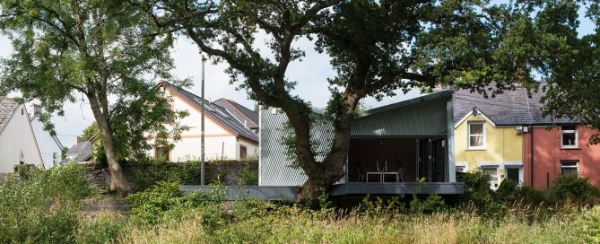 The Rivershed Office - Freshwest - Wales - Exterior - Humble Homes