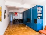 Unfolding Apartment - Michael K Chen Architecture - New York - Living Area - Humble Homes