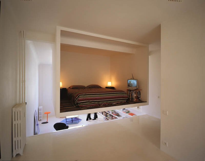 Valentin Apartment - ECDM - Paris - Bedroom - Humble Homes