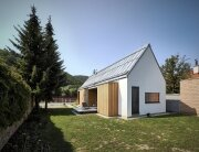 Wooden Brick House - Jaro Krobot - Slovakia - Exterior - Humble Homes