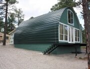 Arched Cabins - Small Galvanised Houses - Exterior - Humble Homes
