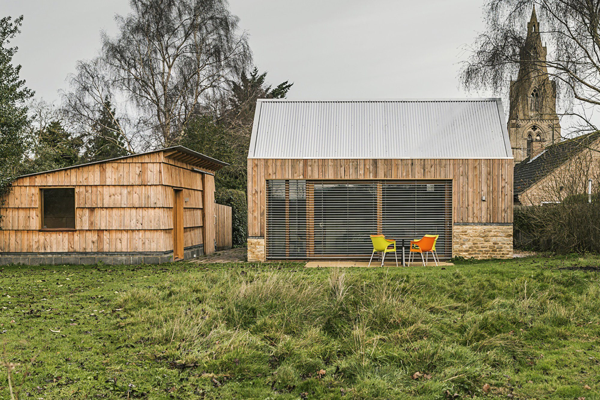 Garden Buildings Warmington - Ashworth Parkes Architects - UK - Exterior - Humble Homes