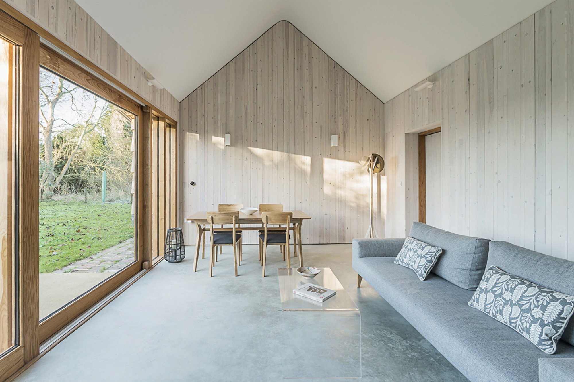 Garden Buildings Warmington - Ashworth Parkes Architects - UK - Living Room 2 - Humble Homes