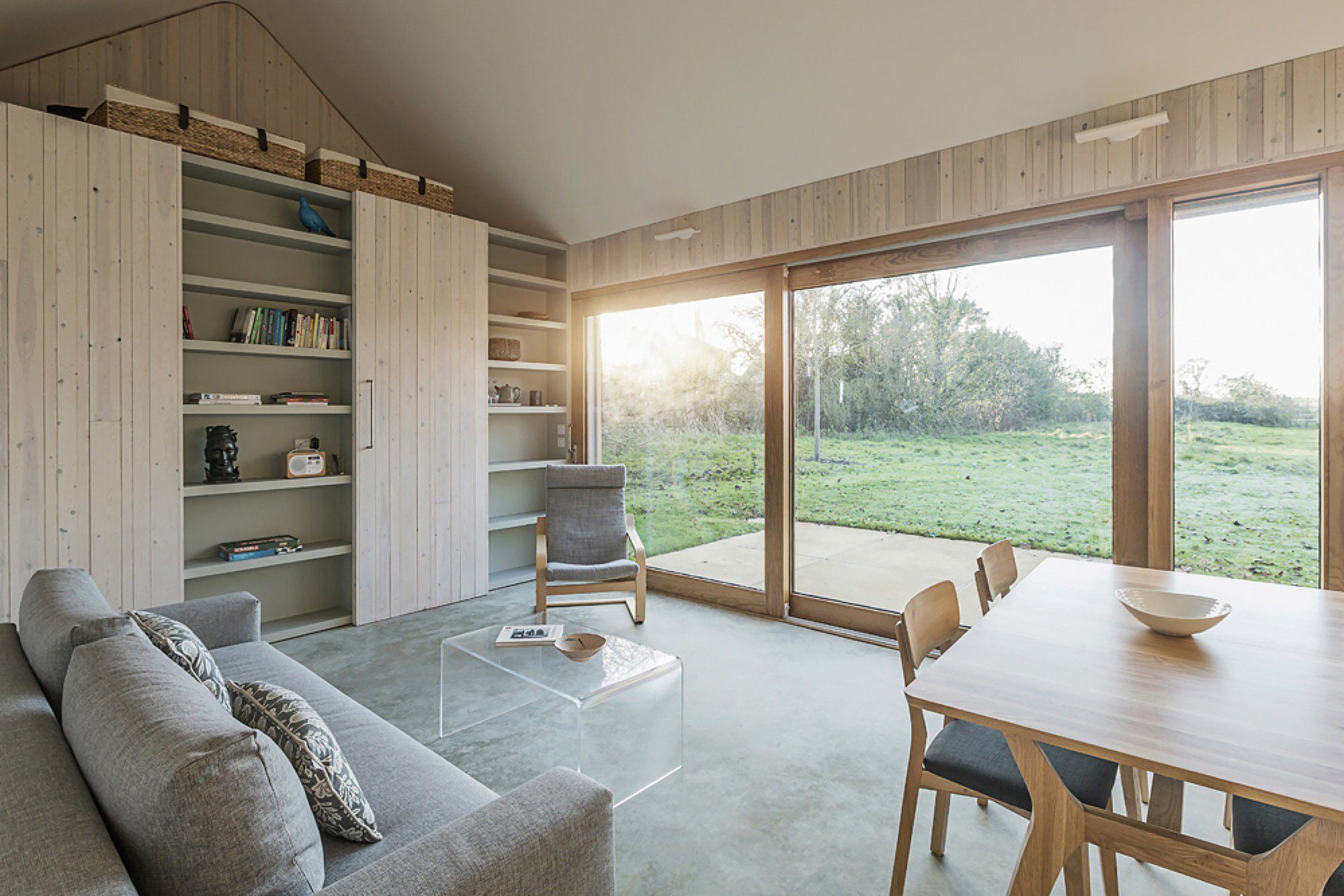 Garden Buildings Warmington - Ashworth Parkes Architects - UK - Living Room - Humble Homes