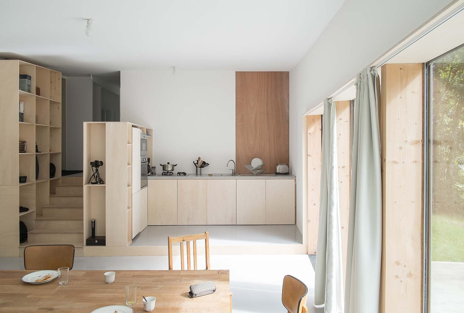 JJ&S.M Houses - Atelier Mima - France - Kitchen - Humble Homes